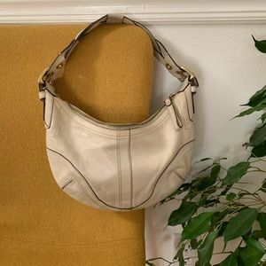 Vintage/Authentic Coach purse with braided strap
